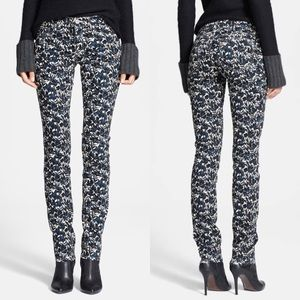 • Tory Burch • Blaire Floral Print Skinny Jeans